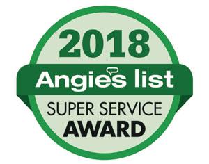 Angies List 2018 Award Winner